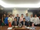 2013 礼貌拜访马来西亚中国经济贸易总商会